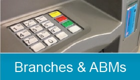 Branches and ATMs